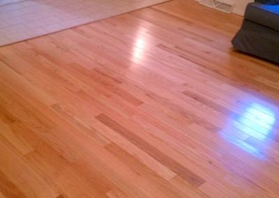 Hardwood Flooring install in Glens Falls, NY