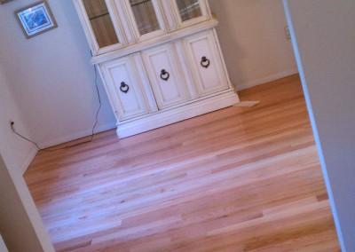 Hardwood flooring install in Glens Falls